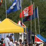 Flags_tents